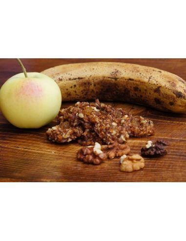 """Печиво """"Яблучно-бананове з волоським горіхом"""", Сироїд, 100г"""