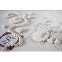 Печиво ванільне серце, Марципан, 190гр