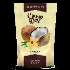 Чіпси кокосові з ваніллю,...