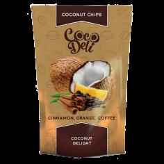 Чіпси кокосові з кавою...