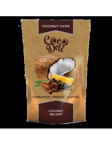 Чіпси кокосові з кавою апельсином і...