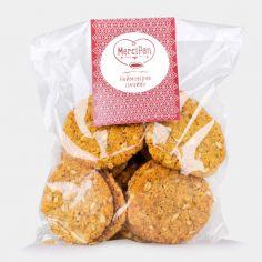 Печиво вівсяне хрустке, Марципан, 190г.