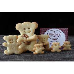 Печенье Щедрый мишка Марципан, 150гр