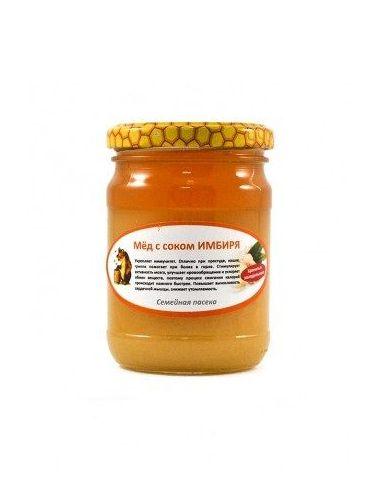 Правильный мед с имбирем, 200мл
