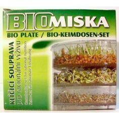 Проращиватель для зерен и семян трехсекционный, Bio Natura