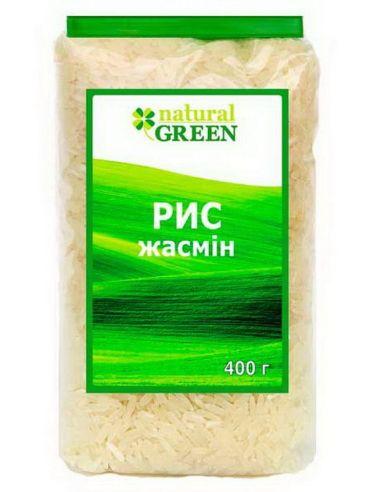 Рис жасмин, NATURAL GREEN, 400г