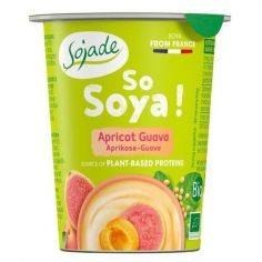 Йогурт соєвий абрикос-гуава, Sojade, 125мл