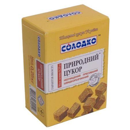 Сахар свекольный, пресованный, Солодко, 250г.
