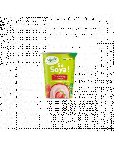 Біфідойогурт соєвий полуничний, Sojade, 125мл