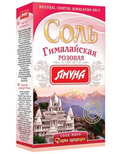 Сіль гімалайська рожева, Ямуна, 200г.