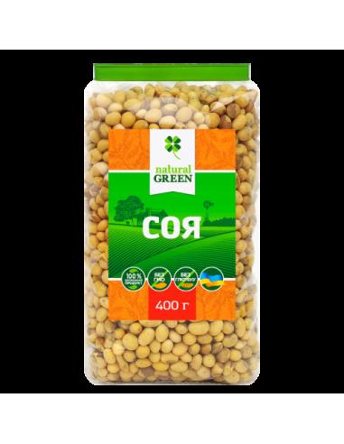 Соя органическая, NATURAL GREEN, 350г