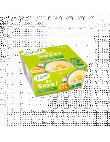 Бифидойогурт соевый манго-кокос, Sojade, 100мл