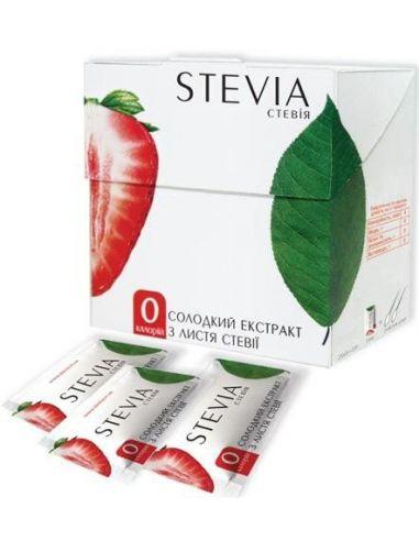 Стевії екстакт в стіках, 25 шт, Stevia, 25г