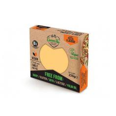 Сир рослинний pizza, блок, GreenVie, 250г.