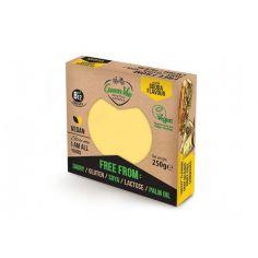 Сир рослинний гауда, блок, GreenVie, 250г.