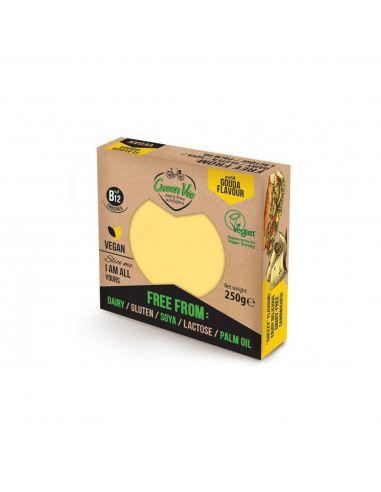 Сыр растительный гауда, блок, GreenVie, 250г.