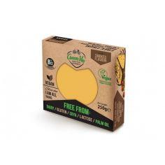 Сыр растительный копченый гауда, блок, GreenVie, 250г.
