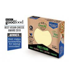 Сир рослинний моцарелла, блок, GreenVie, 250г.