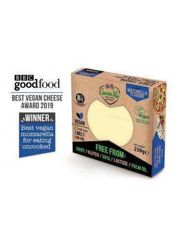 Сыр растительный моцарелла, блок, GreenVie, 250г.