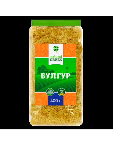Булгур, NATURAL GREEN,400г