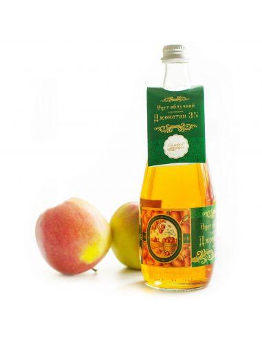 Уксус яблочный, Джонотан 3%  0,7л
