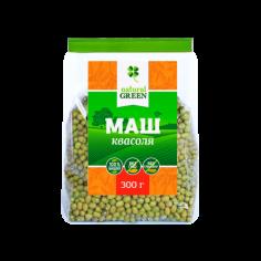 Фасоль маш (мунг), NATURAL GREEN, 300г