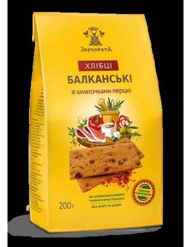 Хлебцы балканские, Зерновита, 200г