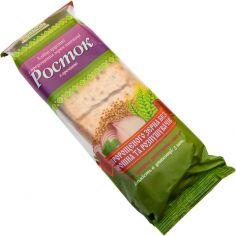 Хлібці з пророщеної пшениці з гречкою, Росток, 120г