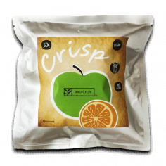 """Хрустики Crisp """"Яблуко-Апельсин"""", Еко-Снек, 60г"""