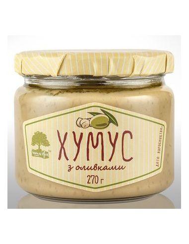 Хумус з оливками, Інша їжа, 270г