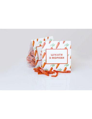 Цукаты из моркови, КСВ, 150г