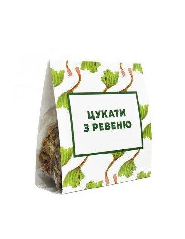 Цукаты из ревеня, КСВ, 150г