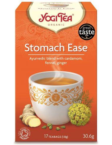 """Чай """"Stomach Ease"""", улучшающий пищеварение, Yogi Tea, пакет, 1,8г"""