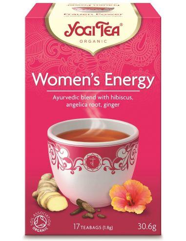 """Чай """"Womens Energy"""", Yogi Tea, пакет, 1,8г"""