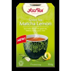 Чай зеленый с лимоном и матчей, Yogi Tea, пакет, 1,8г