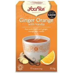 "Чай ""Ginger Orange with Vanila"", Yogi Tea, пакет, 1,8г"