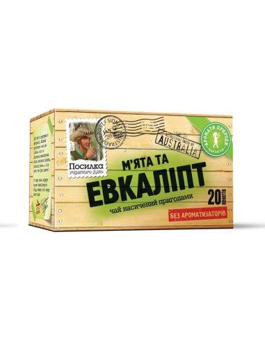 Чай м'ята евкаліпт, МістерТі, 20 * 1,5г.