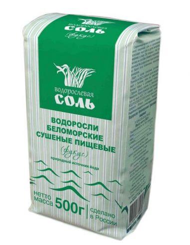 """Водорослевая соль """"Фукусы"""", 500г."""