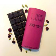 Шоколад журавлина-кардамон, Chovenchoco, 100г