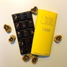Шоколад с бананом, Chovenchoco, 100г