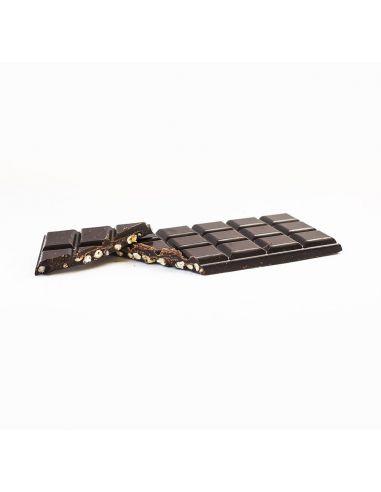 Шоколад из кэроба с киви и мятой, August, 80г