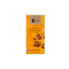 Шоколад органічний Мигдаль-Апельсин, iChoc, Ludwig Weinrich 80г.