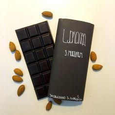 Шоколад с миндалем, Chovenchoco, 100г