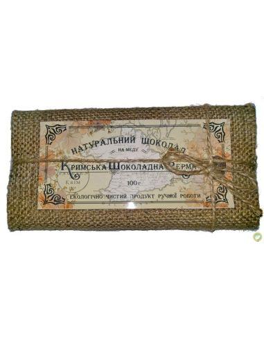 Шоколад черный на меду с имбирем,Шоколадная ЭкоФерма, 100г