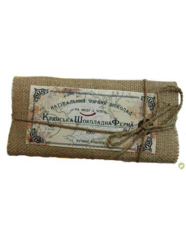Шоколад черный на меду с чили,Шоколадная ЭкоФерма, 100г