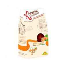 """Шоколадные конфеты """"Курага с орехом в шоколаде"""",  КОРИСНА КОНДИТЕРСЬКА, 150 г"""