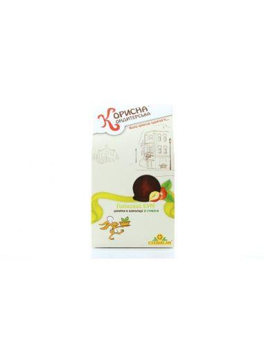 """Шоколадные конфеты """"Ореховый бум"""",  КОРИСНА КОНДИТЕРСЬКА, 150 г"""