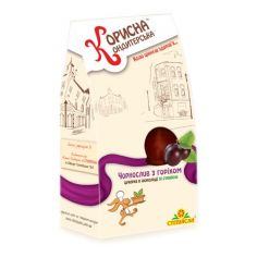 """Шоколадные конфеты """"Чернослив с орехом в шоколаде"""",  КОРИСНА КОНДИТЕРСЬКА, 150 г"""